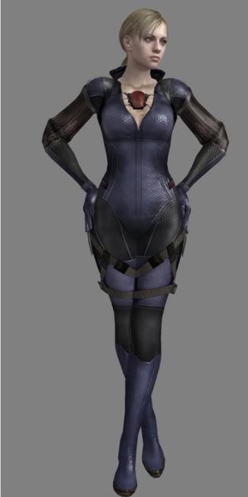Jill Valentine Battle Suit Cosplay Mistyjedi